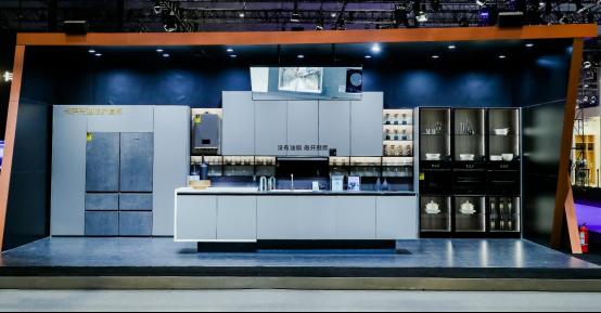 2021AWE:卡萨帝发布理想家厨电套系,构建家庭美食场景生态